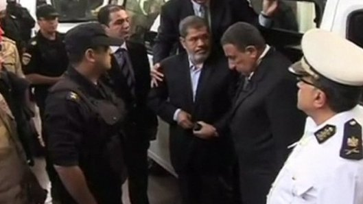 Morsi at Trial, 4-11-13